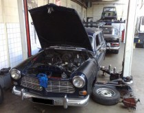 Volvo Amazon Combi project